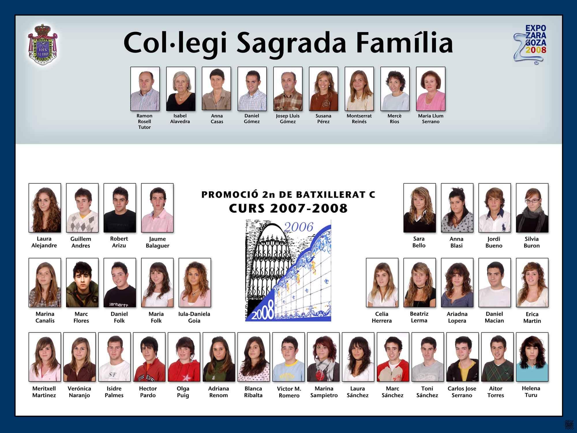 Promoció 2007-2008