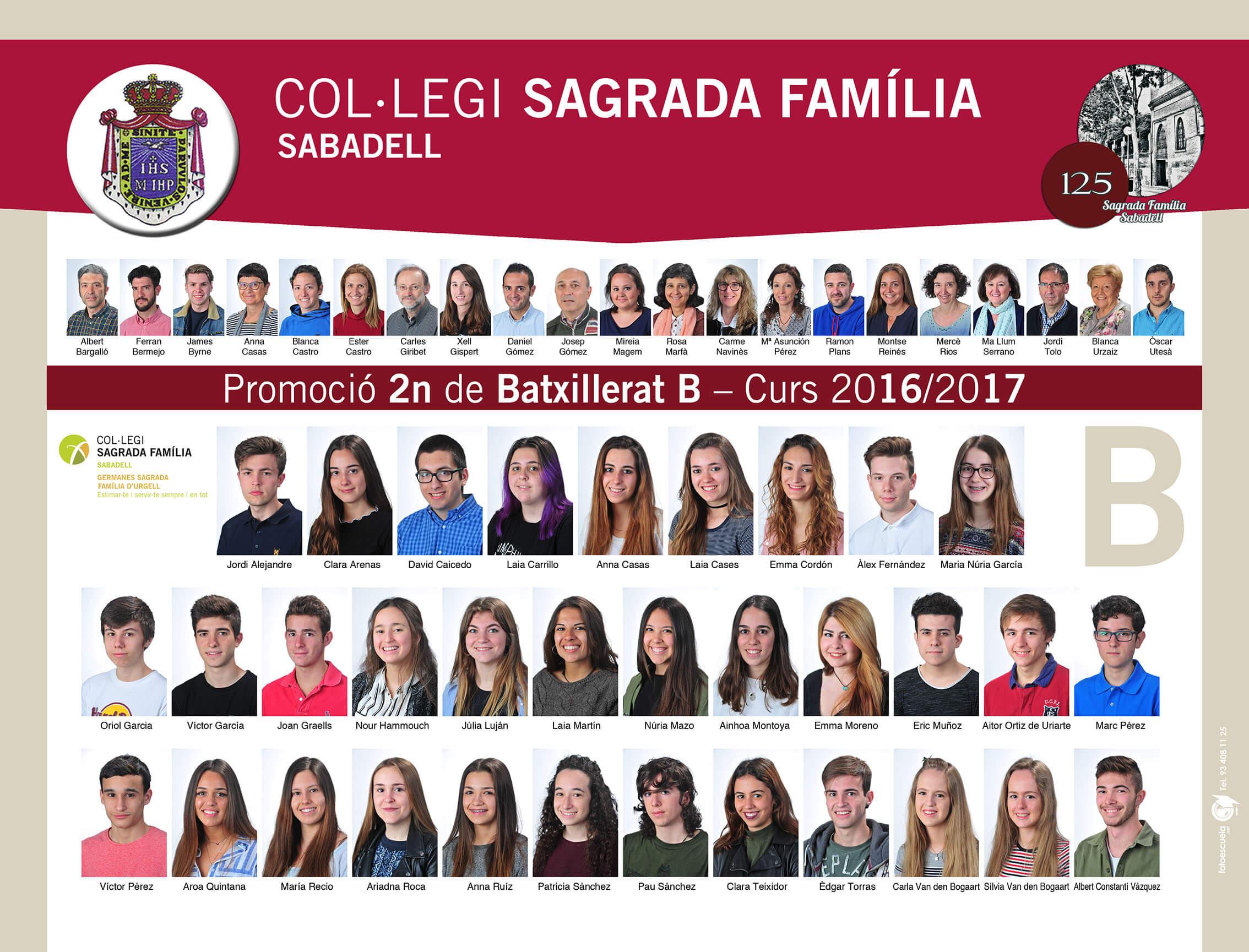 Promoció 2016-2017