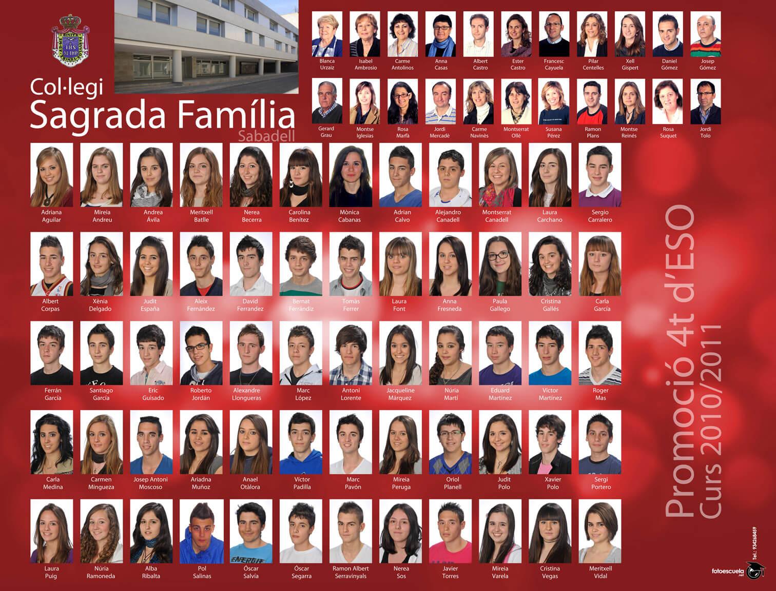 Promoció 2010-2011