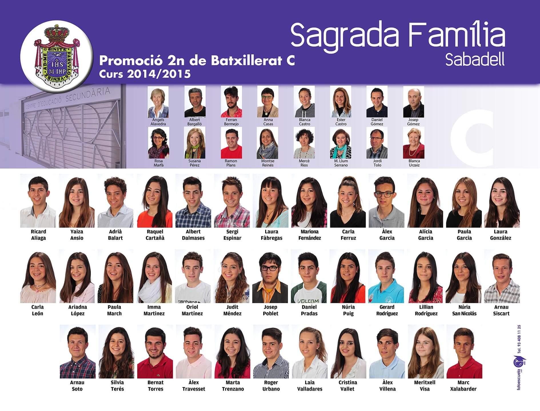 Promoció 2014-2015