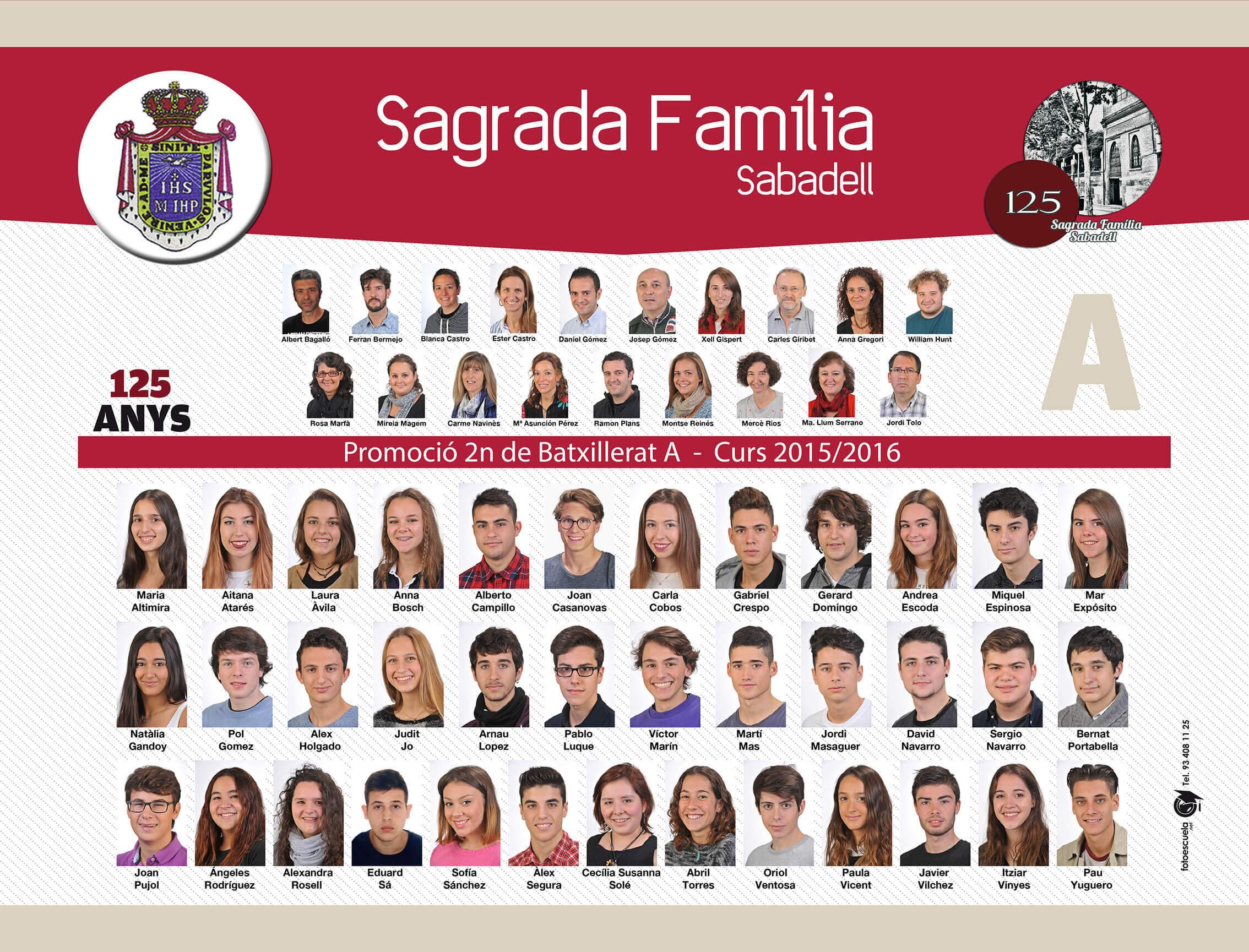 Promoció 2015-2016
