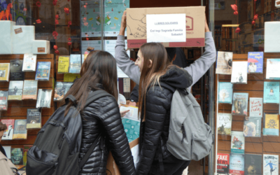 Recollida solidària de 1.350 llibres!