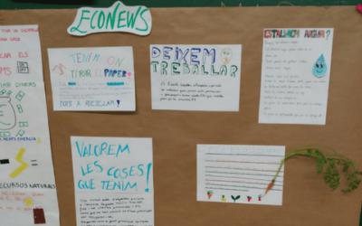 Econews: l'activitat d'ECOSAFA aquest curs 2017-2018