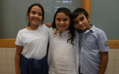 Tres alumnes de l'escola, al Consell dels Infants de Sabadell
