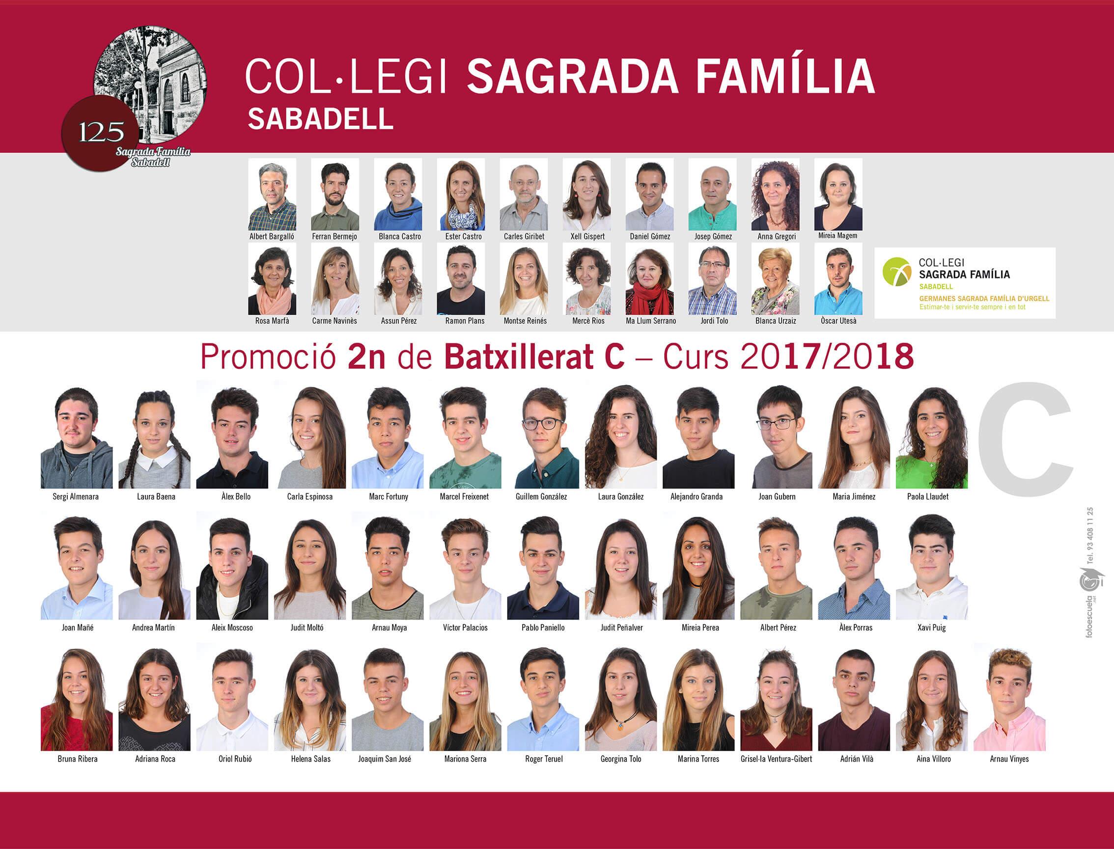 Promoció 2017-2018